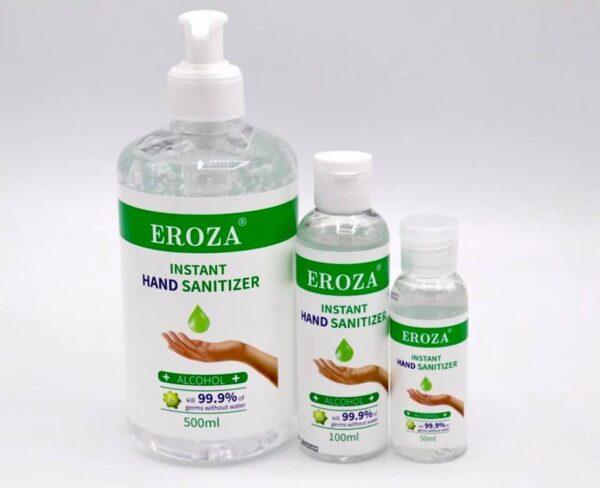 Desinficerende håndsprit gel 75% 50 ml.
